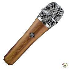 Telefunken M80 Dynamic Live Stage Vocal Singing Recording Microphone Mic Oak
