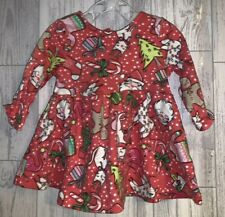 Girls Age 0-3 Months - Next Christmas Dress