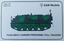 S & M Modèles-British army personnel carrier FV432 1/72 scale Model Kit