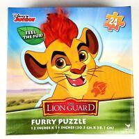 Toddler Furry Puzzle. 24 Piece Disney Jr. The Lion Guard