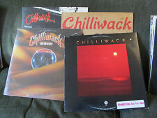 4 lp lot Chilliwack promo S/T Lights from the Valley SEALED all over you wanna b