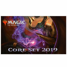 MTG MAGIC M19 Core Set 2019 Complete Set without Mythics X4 + Tokens