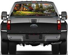 Cabin in the Woods  Rear Window Graphic Decal Sticker Truck SUV Van Car