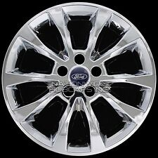 "4 New 2017 2018 Ford Fusion SE 17"" Chrome Wheel Skins Hub Caps Alloy Rim Covers"