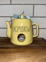 Rae Dunn Homebrew Teapot Birdhouse