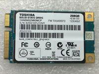 TOSHIBA THNSNS256GMCP 256GB SSD mSATA For Samsung Dell HP Lenovo Laptop Mini