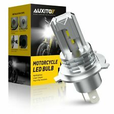 AUXITO H4 9003 LED Headlight Hi/Low Beam 6000K Bulb Motorcycle Fanless 10000LM L