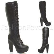 Block Zip Unbranded Mid-Calf Women's Boots