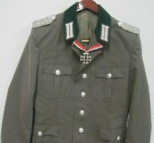Uniform Jacke Offizier Wehrmacht Orden Ritterkreuz Gr. .44-52 EK  Repro  NVA