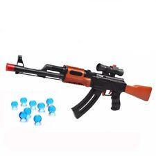 Toy Gun AK 47 Soft Bullet  Water Pistol Gun Rifiel Absorb Bullet Airgun Gift New