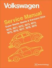 VW VOLKSWAGEN BEETLE KARMANN GHIA Owners Service Repair Manual Handbook Book
