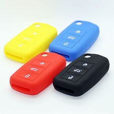 Silicone Case Flip Key Key Cover Cover Remote Control Silicone VW Audi