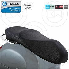 SELLA VESPA GTS 125 250 2005-2014 BIPOSTO COMPLETA ORIGINALE PIAGGIO NERO
