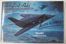 1996 Air-List-Ads December issue Features Autogyros