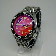 MODDED VINTAGE SEIKO SUBMARINER 7002 SCUBA DIVERS WATCH