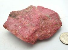 Thulite Pink Natural Rough Crystal Specimen Norway 132 grams Reiki Crystals