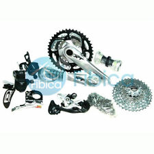 New Shimano Deore XT M780 M786 3x10-speed Group Groupset with Lockout Silver