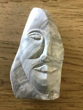 Carved Soapstone Sculpture Signed Andrew Ponton 1978