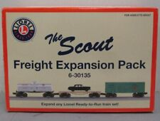 Lionel 6-30135 O Scout Freight Expansion Pack LN/Box