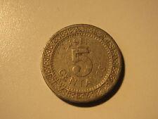 MEXICO 1911 5  centavos coin
