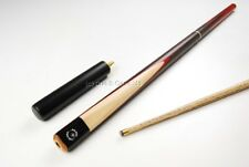 "55"" RED HAWK 3 Piece English Pool Cue, EXT & CASE - 8mm Tip"