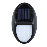 Outdoor Garden LED Solar Light Wireless Waterproof Wall Light Security Lamp