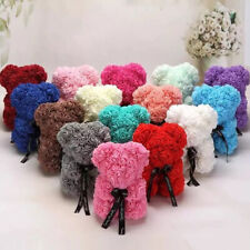25/40cm Rose Foam Bear Flower Teddy Gift Valentine Birthday Wedding Chrismas RV
