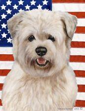 Patriotic (D2) Garden Flag - Wheaten Glen of Imaal Terrier 322151