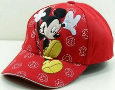 Jumping Embroidered Mickey Mouse Kids Boy Girls Adjustable Baseball Hat Ball Cap