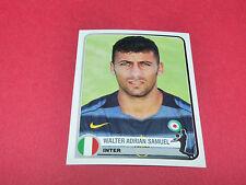 149 WALTER ADRIAN SAMUEL  INTER UEFA PANINI FOOTBALL CHAMPIONS LEAGUE 2005 2006