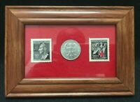 Rarest World War 2 German MNH Stamps &1923 500 Mark Coin - Historical Artifacts