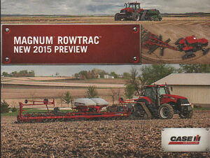 "CASE IH ""Magnum Rowtrac"" New 2015 Preview Tractor Brochure"