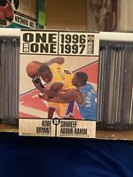 1996-97 KOBE BRYANT COLLECTOR'S CHOICE ONE ON ONE RC ROOKIE CARD 361