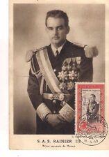 Vintage Postcard Rainier III, Prince of Monaco    1950