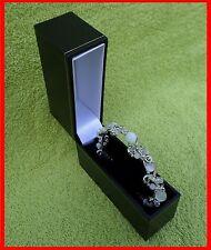 Jewellery Presentation Box, Bangle Slim, Leatherette Range, Gift, Weddings, New.