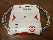 Clarks Road / MTB / Hybrid Stainless Steel Gear Shifter Cable Wire. BNIB. NEW.