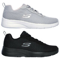 SKECHERS 12964 DYNAMIGHT 2 EYE TO EYE scarpe donna sportive sneaker tela tessuto