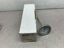 "NEW IN BOX WIKA 6"" STEM LENGTH BIMETAL THERMOMETER 150/750 F. 1/2""NPT TI.30"