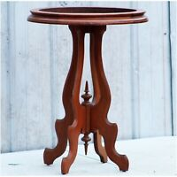 Antique Victorian style table oval shape Needs Marble Top