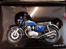 HONDA CB 750 - 1968- 78 * BLUE / Blau * 1:12  Minichamps 122161004