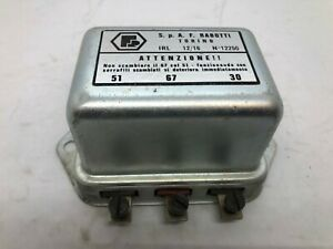 Fiat 500 600 1100 1200 Voltage Regulator Rabotti NOS
