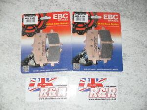 SUZUKI GSXR1000 EBC GPFAX BRAKE PADS,GSXR1000 GPFAX447HH BRAKE PADS,2012 TO 2018