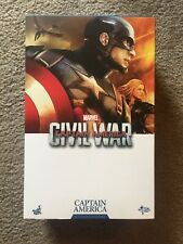 Hot Toys MMS350 Marvel Captain America Civil War Captain America 1/6 Figure