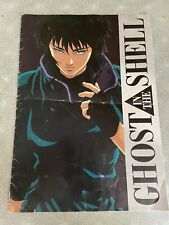Ghost In The Shell 1995 11x17 Access Guide Promo Brochure Press Kit Art  Booklet