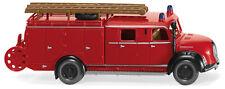 Wiking 086399 Magirus Deutz LF 16 Feuerwehr mit Schlauchhaspel 1:87  NEU