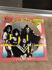 KISS HOTTER THAN HELL Orig Vinyl Record Album CASABLANCA NBLP 7006------------55