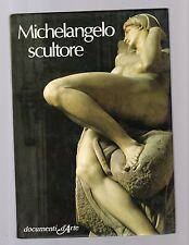 documenti d arte De agostini - michelangelo scultore -