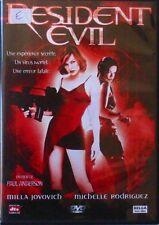 DVD RESIDENT EVIL - Milla JOVOVICH / Michelle RODRIGUEZ / Paul ANDERSON