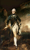 Oil painting Joshua Reynolds - Lord Robert Manners - Male portrait on canvas