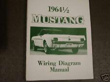 1964 1/2 Ford Mustang Wiring Diagram Manual